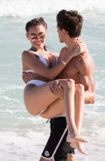 MADISON BEER in Bikini at Miami Beach 12/30/2016