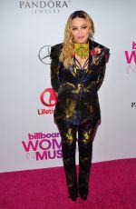 MADONNA at Billboard Women in Music 2016 in New York 12/09/2016