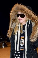 MADONNA at JFK Airport in New York 12/20/2016