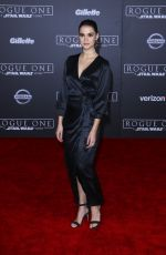 MAIA MITCHELL at Rogue One: A Star Wars Story Premiere in Hollywood 12/10/2016