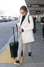 MARGOT ROBBIE at LAX Airport in Los Angeles 11/29/2016