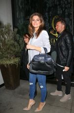 MARIA MENOUNOS at Catch LA in West Hollywood 12/06/2016