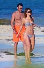 MARIA MENOUNOS in Bikini at a Beach in Mexico 12/29/2016