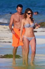 MARIA MENOUNOS in Bikini at a Beach in Mexico 12/29/2016