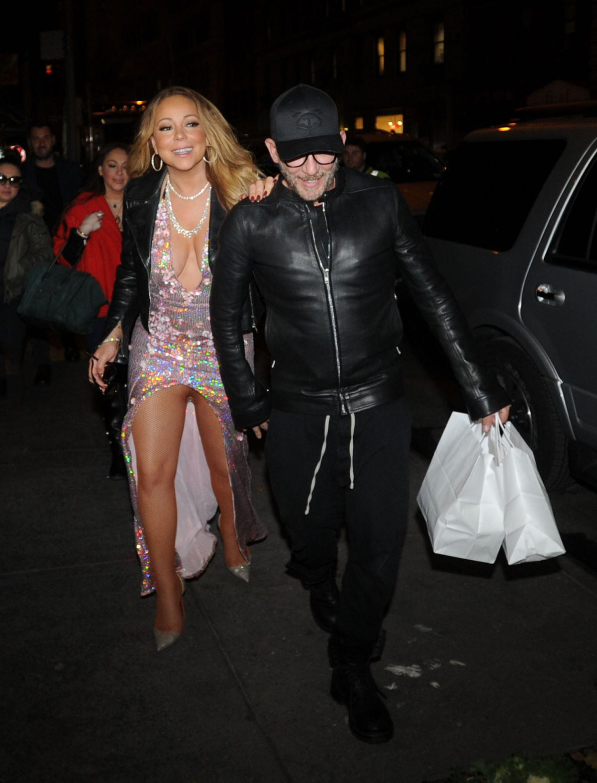Mariah Carey Arrives At Philippe Chow Restaurant In New York 12 01