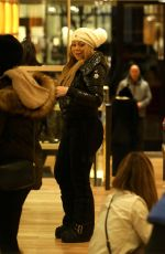 MARIAH CAREY Out for Shopping in Aspen 12/23/2016