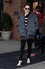MARION COTILLARD Leaves Her Hotel in New York 12/12/2016