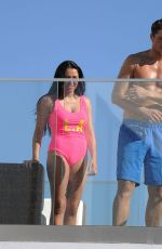MARNIE SIMPSON in Swimuit at a Pool in Mexico 12/21/2016