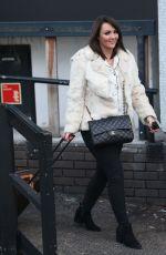 MARTINE MCCUTCHEON Leaves ITV Studios in London 12/22/2016