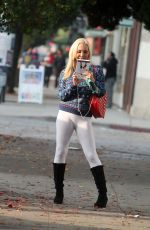 MARY CAREY Out and About in Hollywood 12/20/2016