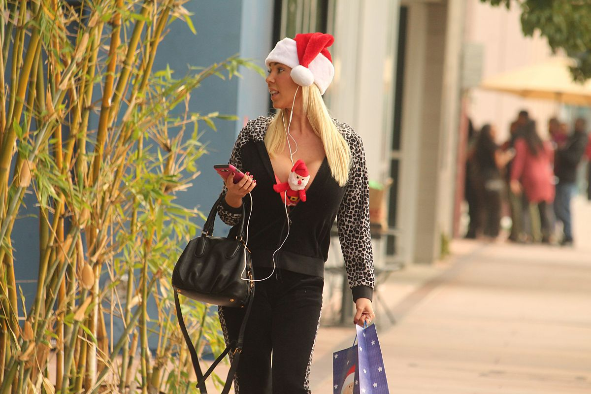 MARY CAREY Out for Holiday Shopping in Studio City 12/12/2016