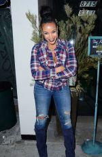 MASIKA KALYSHA at Catch LA in West Hollywood 12/22/2016