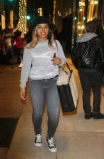 MECHELLE EPPS Out Shopping on Rodeo Drive in Los Angeles 12/22/2016