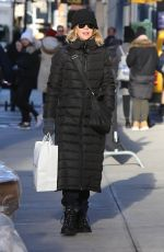 MEG RYAN Out Shopping in New York 12/20/2016
