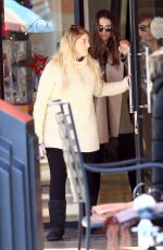 MEGHAN TRAINOR Shopping with Her Boyfriend in Los Angeles 12/19/2016