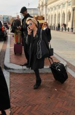 MEGYN KELLY Out and About in Washington 12/05/2016