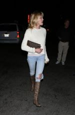 MELANIE GRIFFITH Night Out in Los Angeles 12/04/2016
