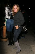 MELISSA RIVERS Out for Dinner in Santa Monica 12/17/2016