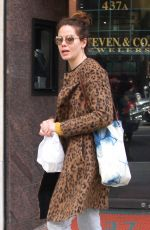 MICHELLE MONAGHAN Out in Beverly Hills 12/08/2016