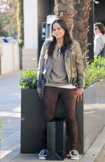 MICHELLE RODRIGUEZ Out Shopping in Beverly Hills 12/19/2016