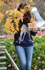 MILA KUNIS Out in Studio City 12/21/2016