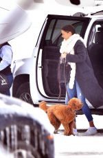 MIRANDA KERR at Airport in Jackson Hole 12/28/2016