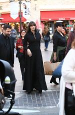MONICA BELLUCCI Arrives at