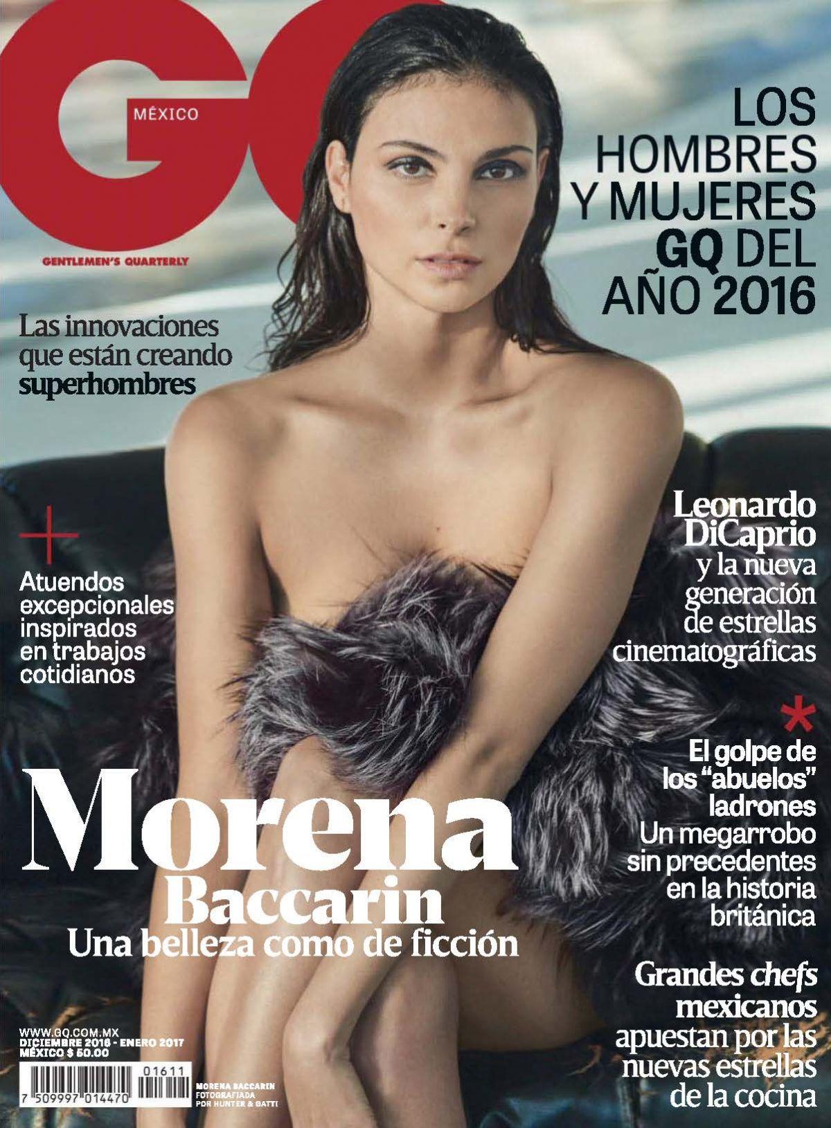 MORENA BACCARIN in GQ Magazine, Mexico December 2016