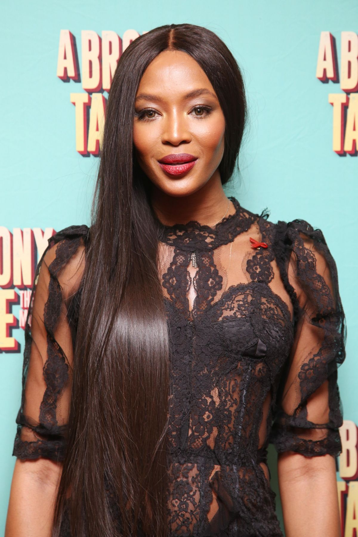 NAOMI CAMPBELL at Opening Night of ABbronx Tale at Longacre Theatre in New York 12/01/2016
