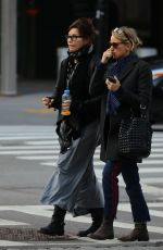 NAOMI WATTS and GINA GERSHON Out in New York 12/23/2016