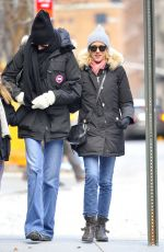 NAOMI WATTS Out and About in New York 12/16/2016