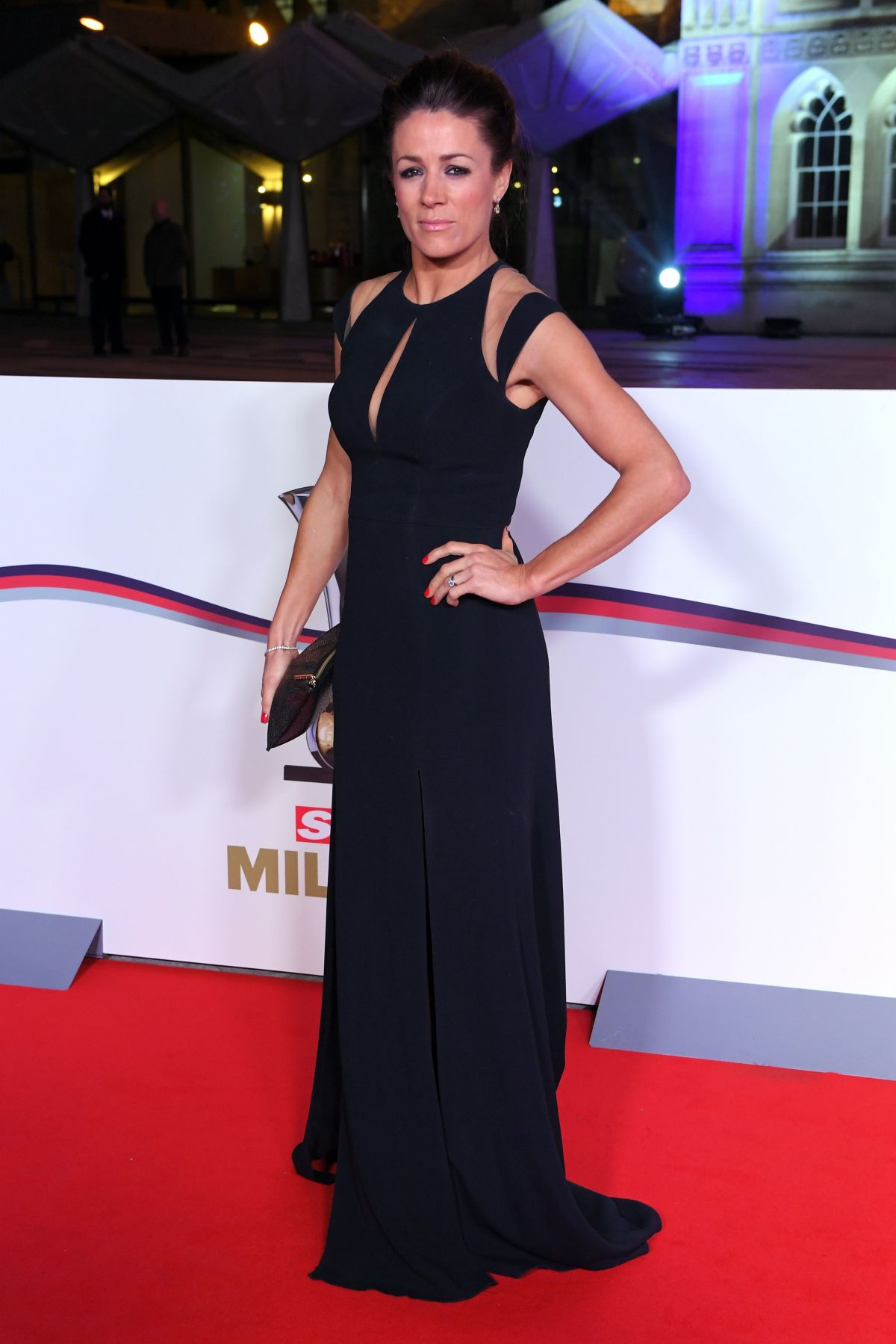 NATALIE PINKHAM at The Sun Military Awards in London 12/14/2016