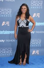 NIA LONG at 22nd Annual Critics' Choice Awards in Santa Monica 12/11/2016