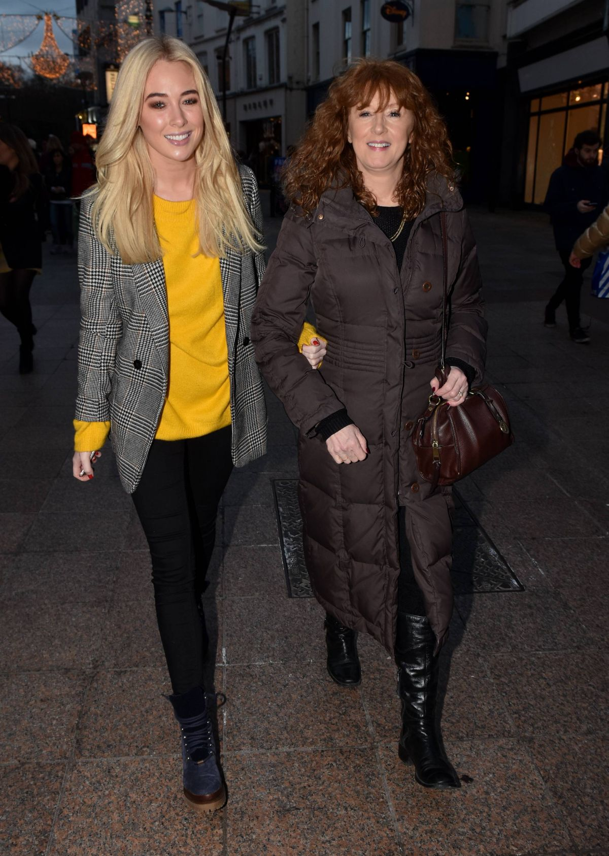 NICOLA HUGHES Out and About in Dublin 12/19/2016