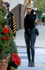 NICOLA PELTZ Out for Lunch in Beverly Hills 12/05/2016