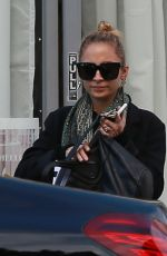 NICOLE RICHIE Leaves a Spa in Los Angeles 12/22/2016