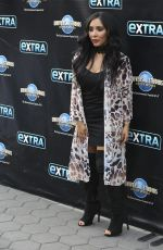 NICOLE SNOOKI POLIZZI on the Set of Extra in Universal City 12/06/2016