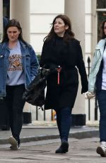 NIGELLA LAWSON Out and About in London 12/16/2016