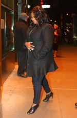 OCTAVIA SPENCER Out and About in New York 12/09/2016