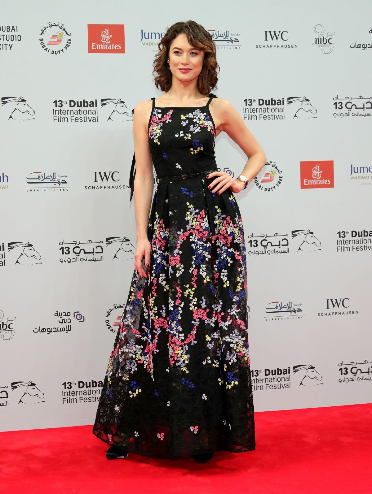 OLGA KURYLENKO at 13th Annual Dubai International Film Festival in Dubai 12/07/2016