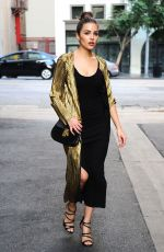OLIVIA CULPO Leaves a Photoshoot in Los Angeles 12/13/2016