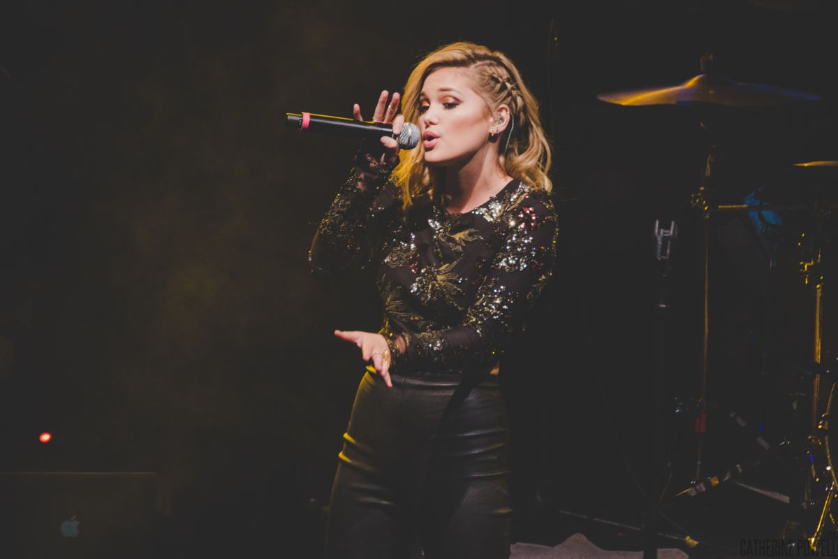 OLIVIA HOLT Performs at