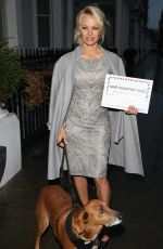 PAMELA ANDERSON Delivers a Petition to the High Comission of Mauritius 12/12/2016