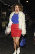 PANDORA CHRISTIE at Schweppes 12 Twists of Christmas in London 12/15/2016