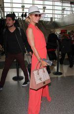PARIS HILTON at Los Angeles International Airport 12/13/2016