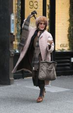 PARKER POSEY Out and About in New York 12/27/2016