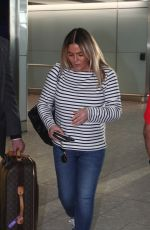 PATSY KENSIT at Heathrow Airport in London 12/22/2016