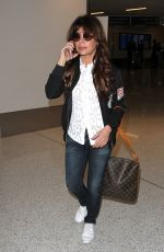 PAULA ABDUL at LAX Airport in Los Angeles 12/06/2016