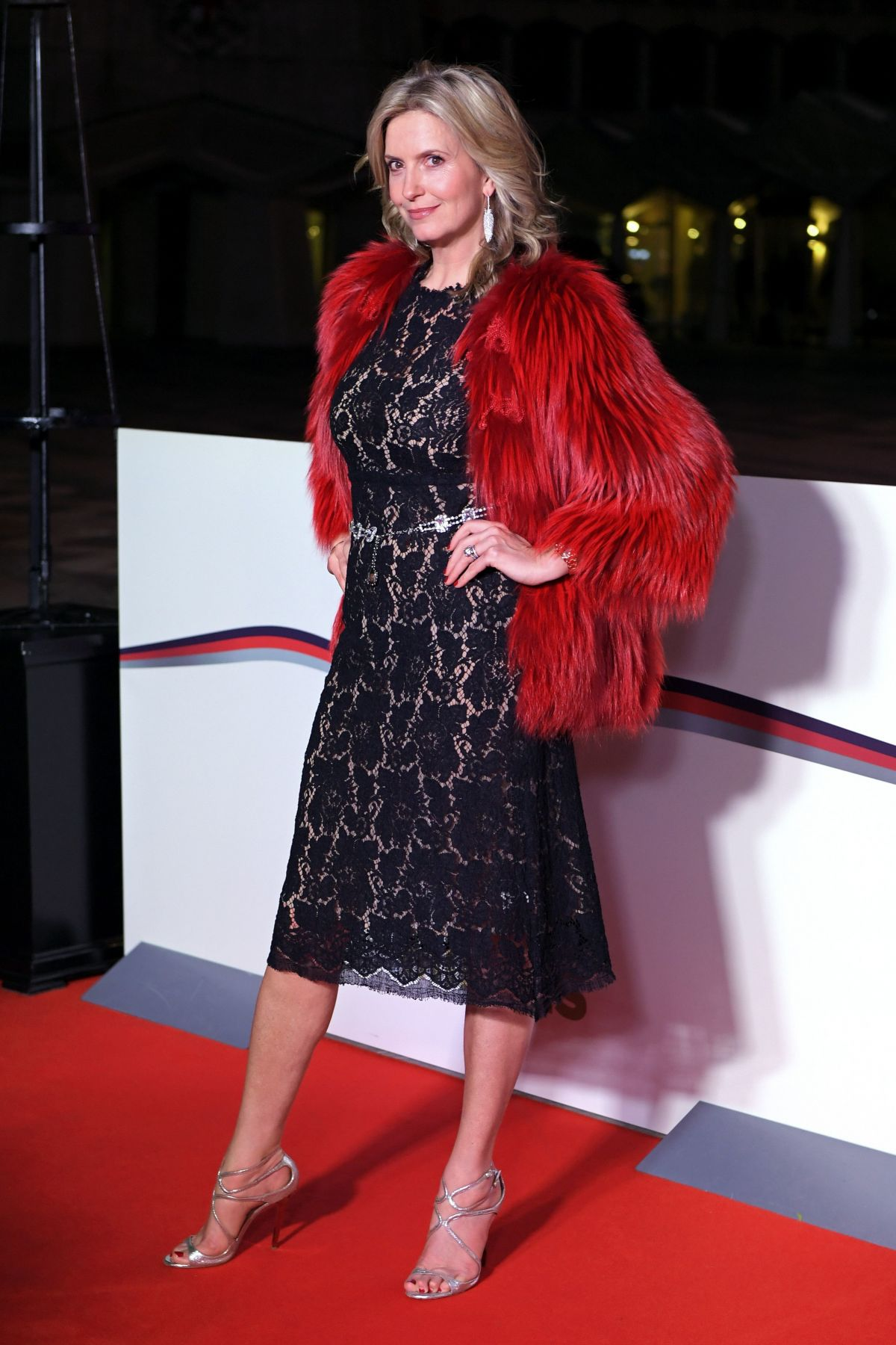 PENNY LANCASTER at The Sun Military Awards in London 12/14/2016