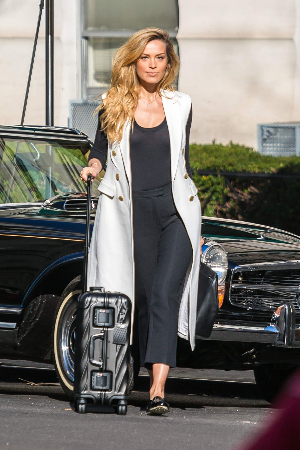 PETRA NEMCOVA on the Set of a Photoshoot in New York 12/14/2016